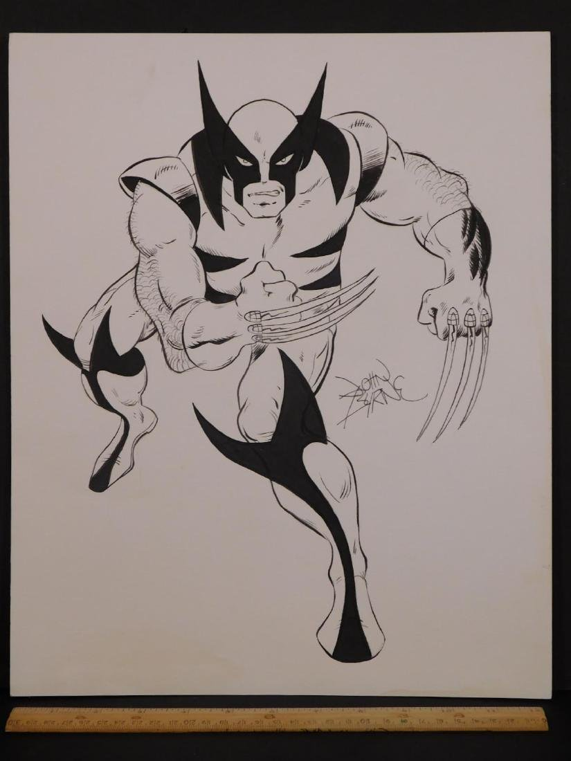 John Byrne: Sketch for Wolverine - 5