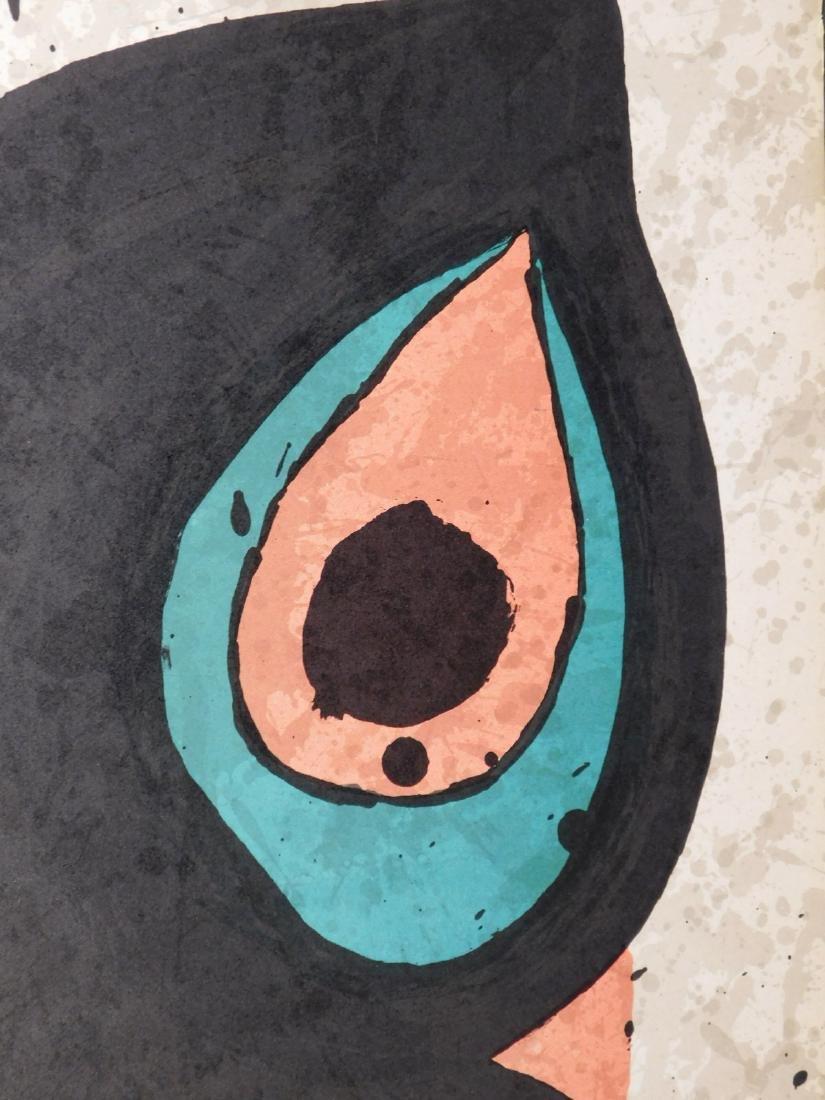 Joan Miro: Original Lithograph Exhibition Poster - 3