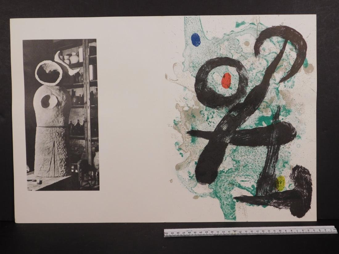 Joan Miro: The Faun - 3