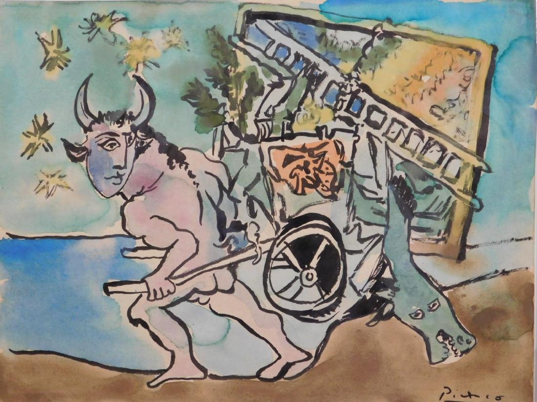 Pablo Picasso: Mythological Composition - 2
