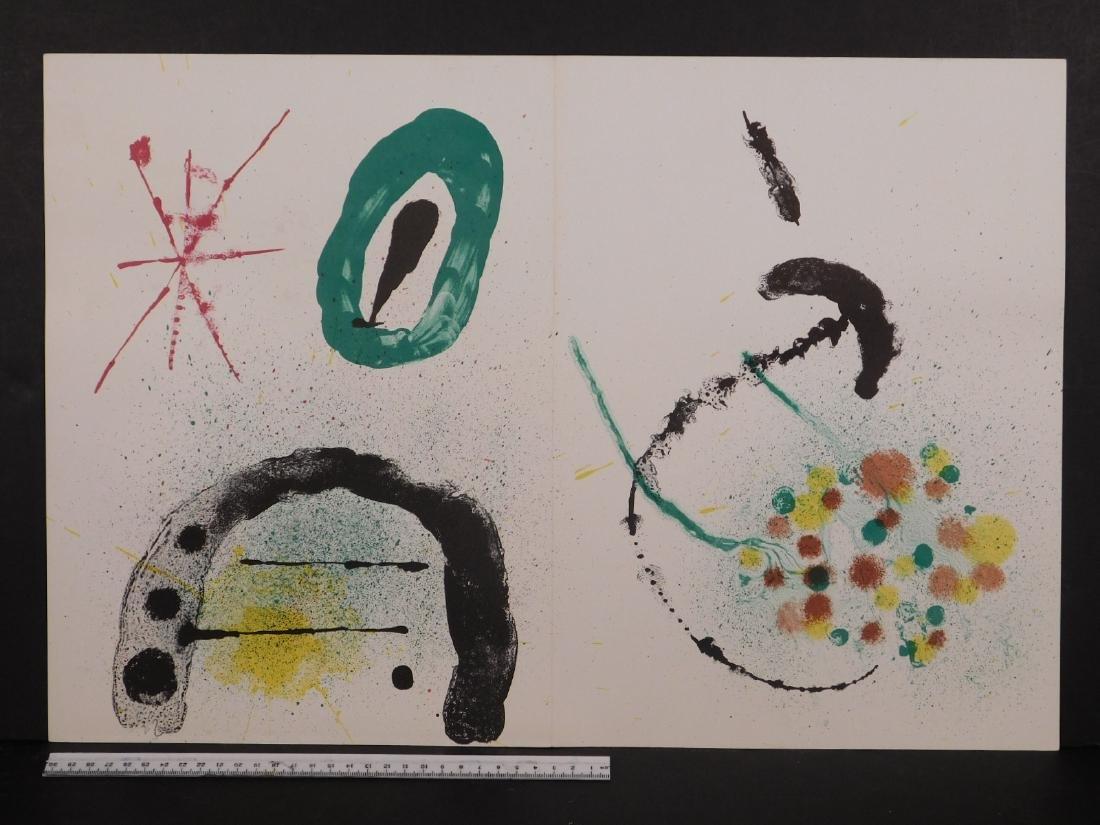 Joan Miro: Abstract Composition - 2