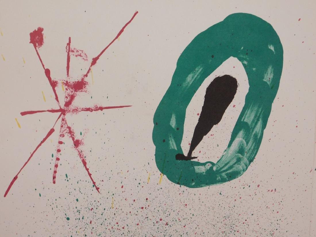 Joan Miro: Abstract Composition - 4