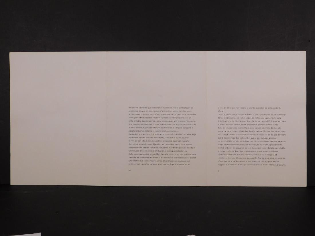 Joan Miro: Sans Titre - 7