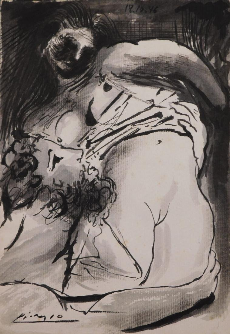 Pablo Picasso:  Man and Woman