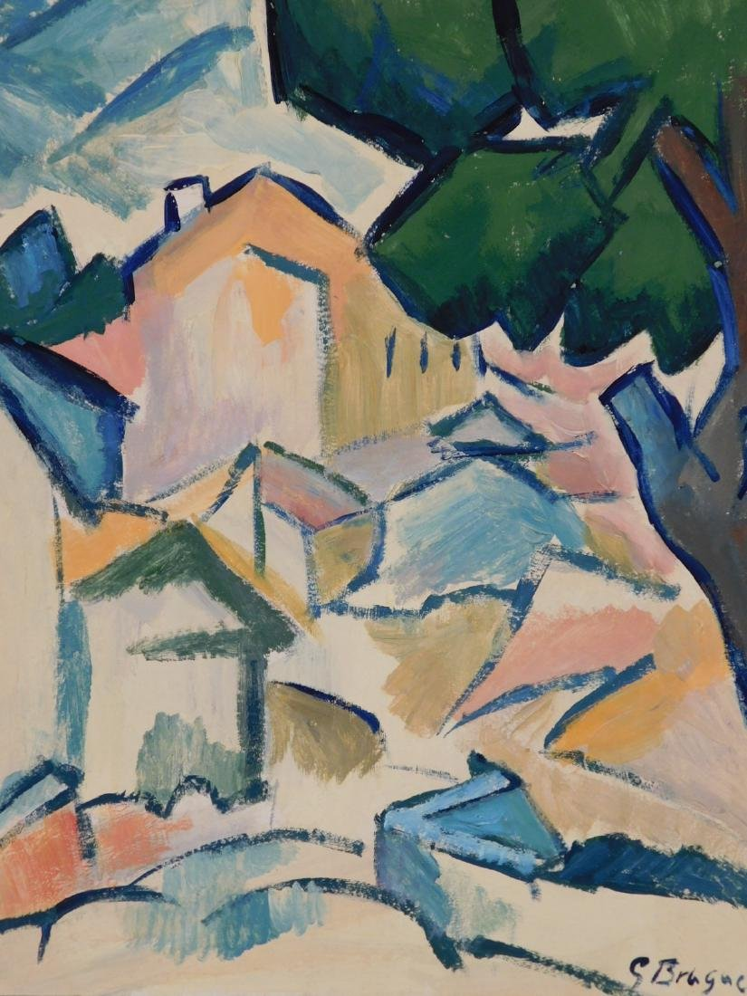 Georges Braque: Landscape with Houses and Tree