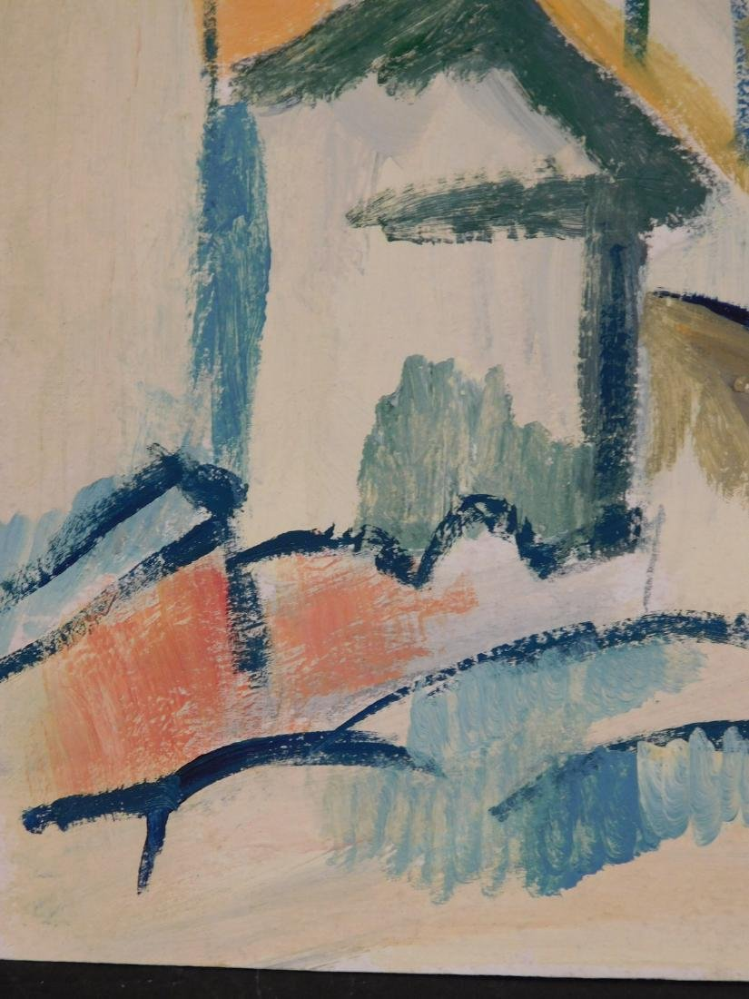 Georges Braque: Landscape with Houses and Tree - 7