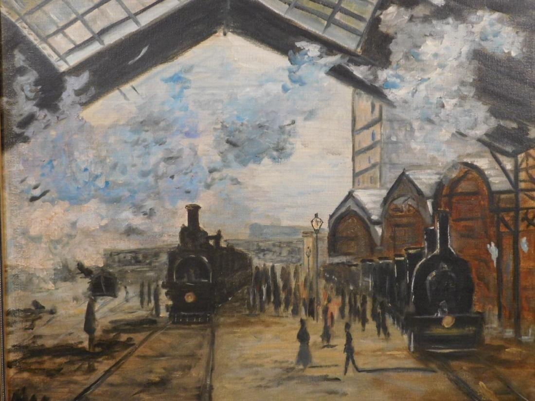 After Claude Monet: Gare Saint Lazare