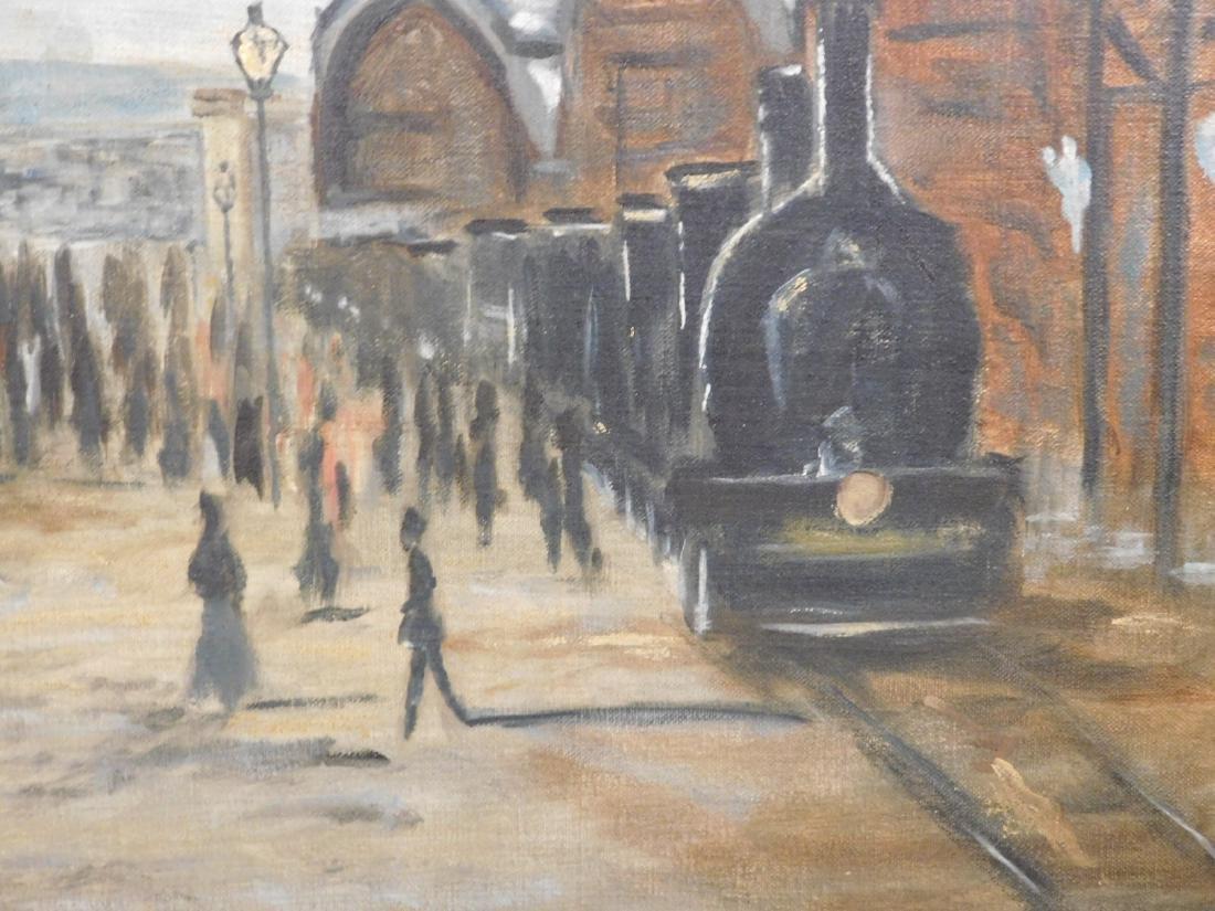 After Claude Monet: Gare Saint Lazare - 5