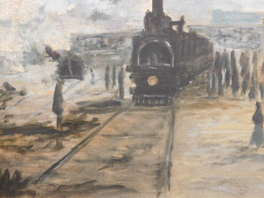 After Claude Monet: Gare Saint Lazare - 6