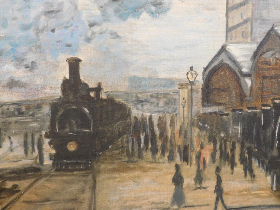 After Claude Monet: Gare Saint Lazare - 7