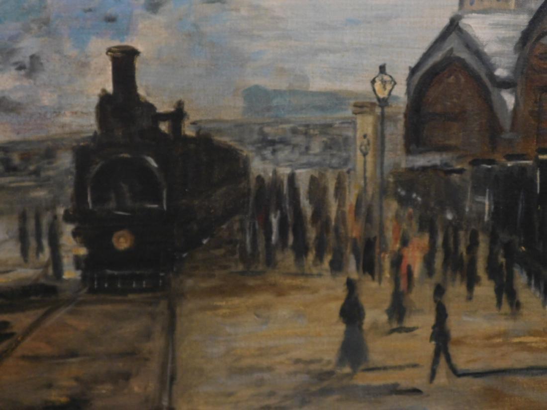 After Claude Monet: Gare Saint Lazare - 8