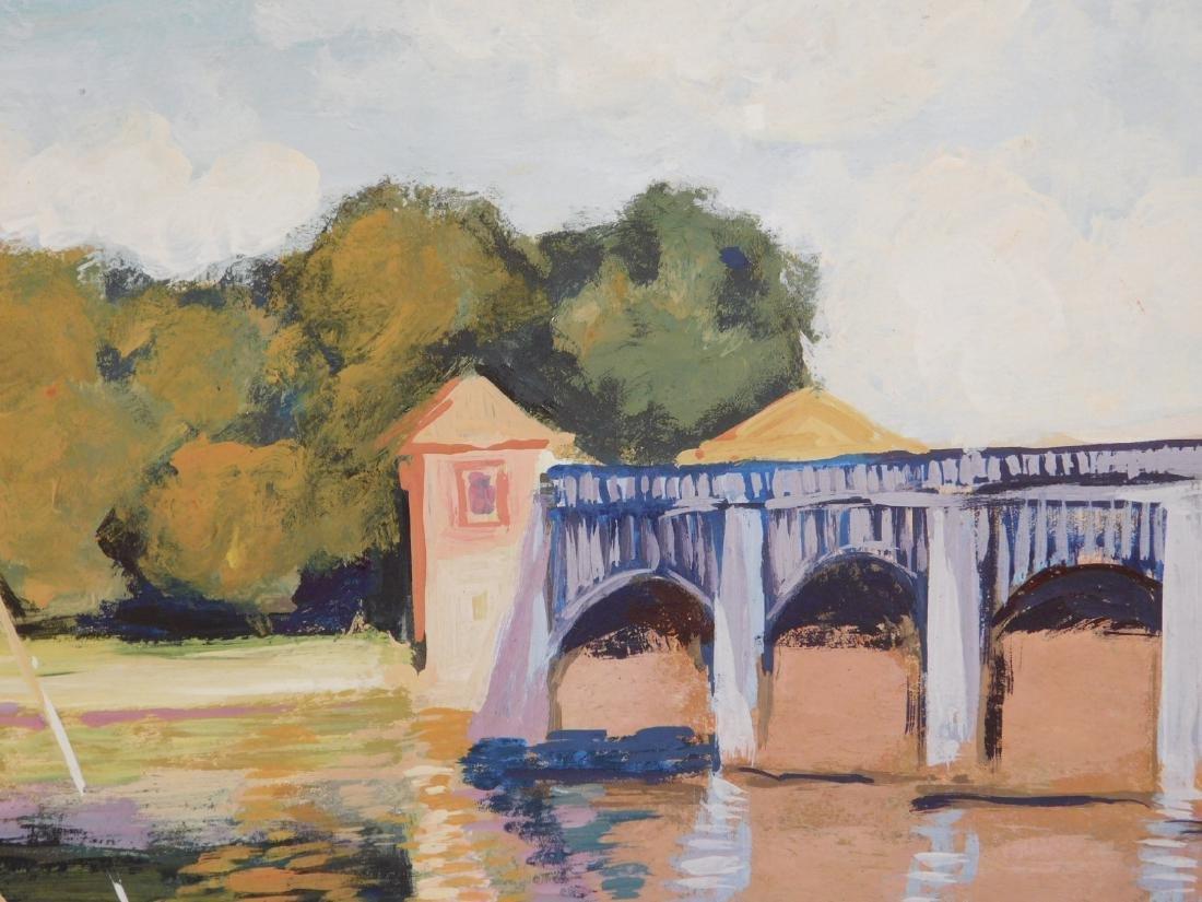 Claude Monet: The Bridge at Argenteuil - 3