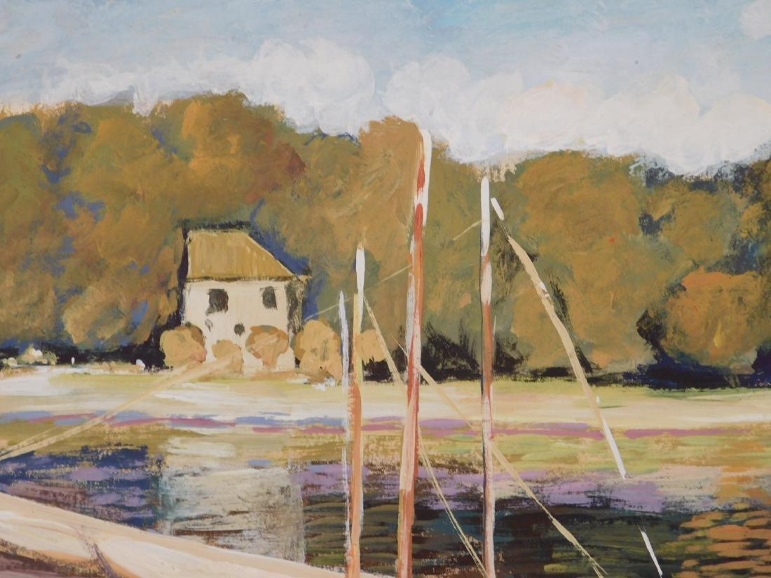 Claude Monet: The Bridge at Argenteuil - 4