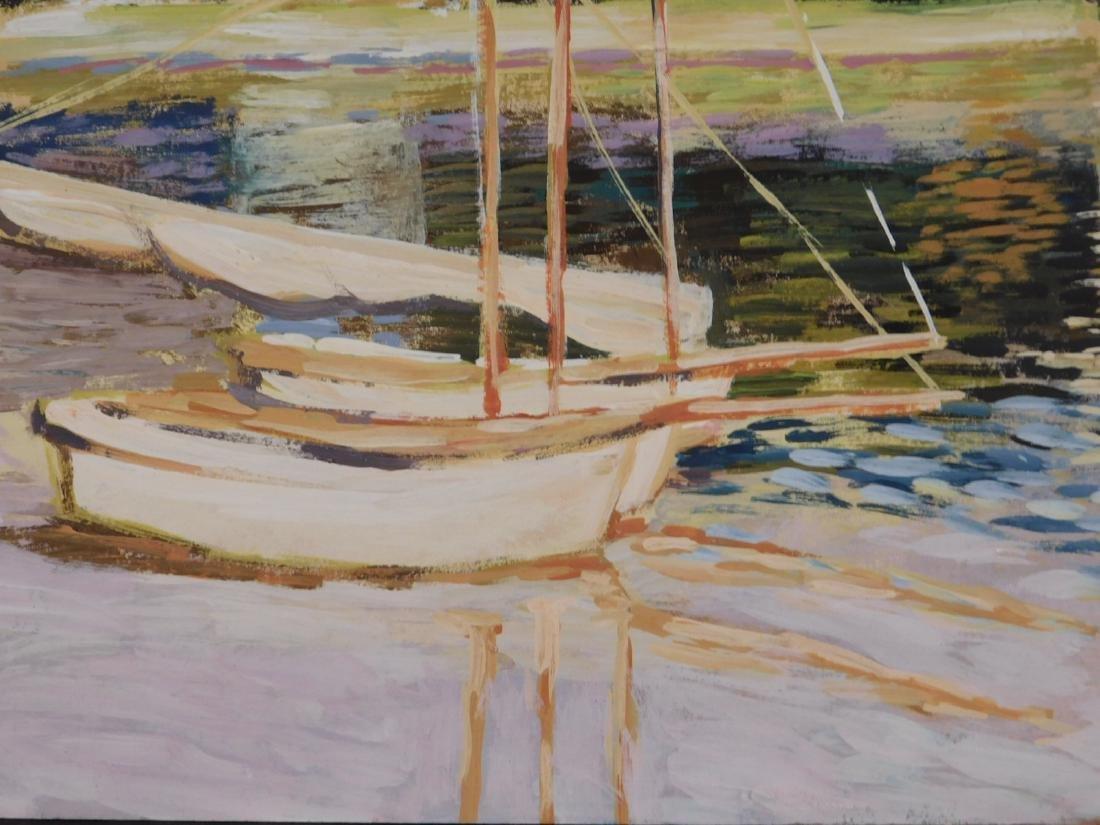 Claude Monet: The Bridge at Argenteuil - 5