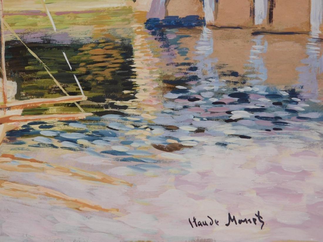 Claude Monet: The Bridge at Argenteuil - 6