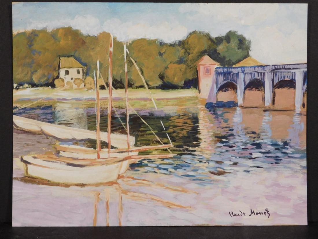 Claude Monet: The Bridge at Argenteuil - 7