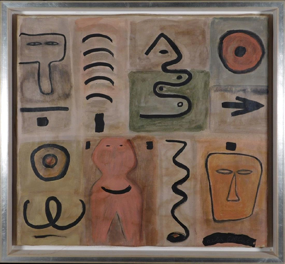 Adolph Gottlieb: Abstract Composition