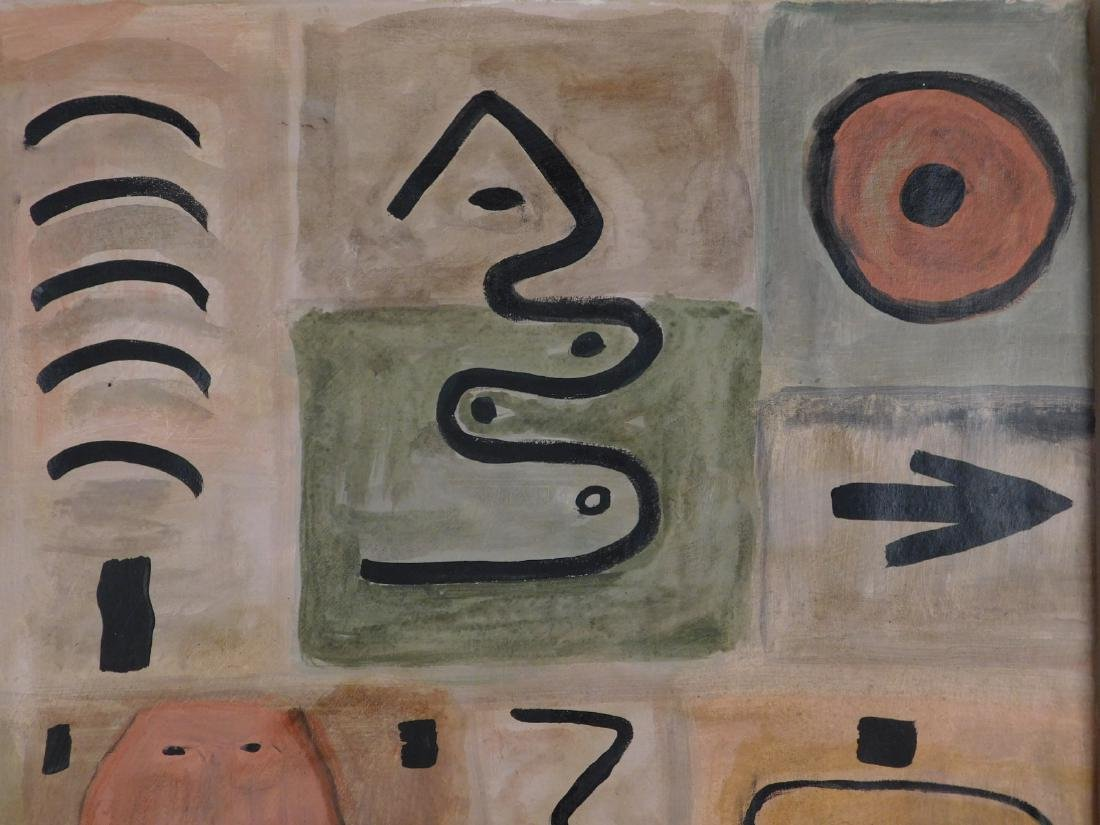 Adolph Gottlieb: Abstract Composition - 3