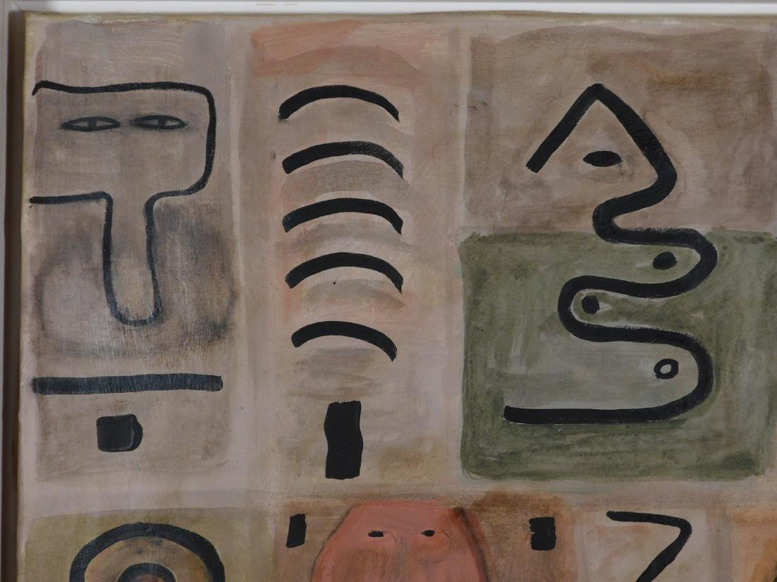 Adolph Gottlieb: Abstract Composition - 4