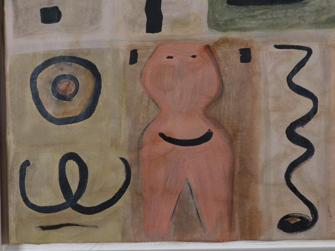 Adolph Gottlieb: Abstract Composition - 5