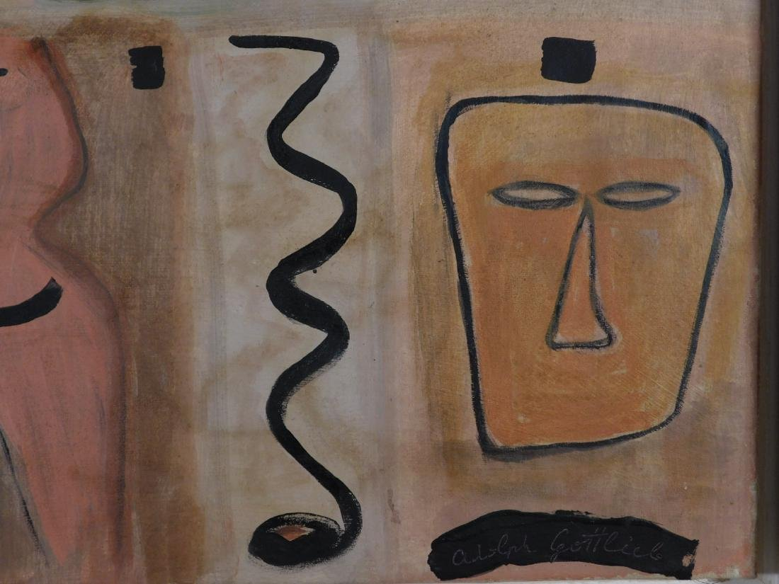 Adolph Gottlieb: Abstract Composition - 6