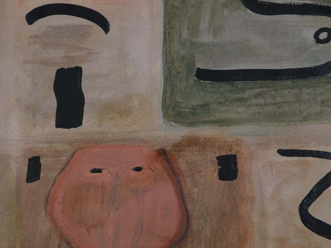 Adolph Gottlieb: Abstract Composition - 7
