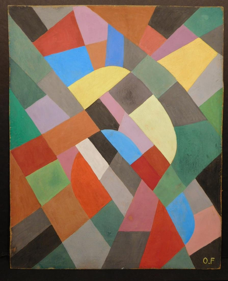 Otto Freundlich: Abstract Composition