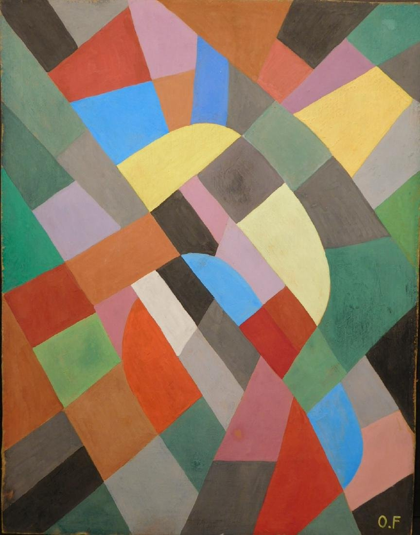 Otto Freundlich: Abstract Composition - 2