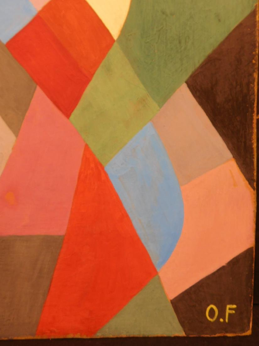 Otto Freundlich: Abstract Composition - 3