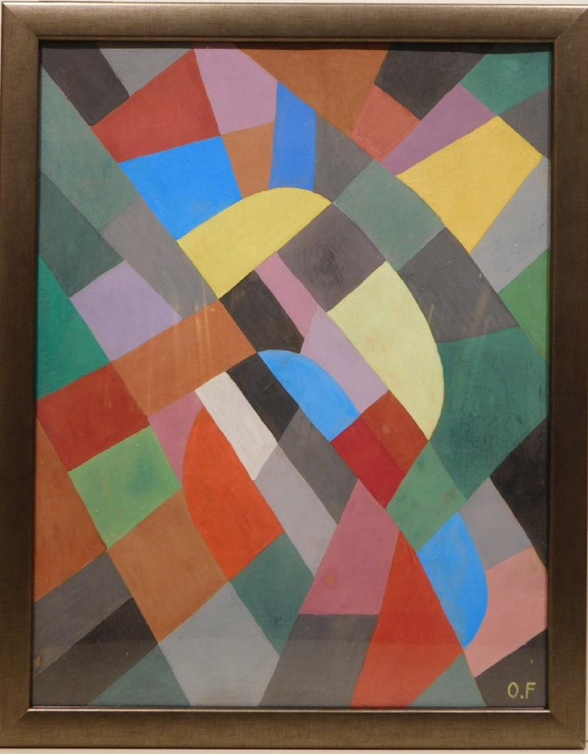 Otto Freundlich: Abstract Composition - 7