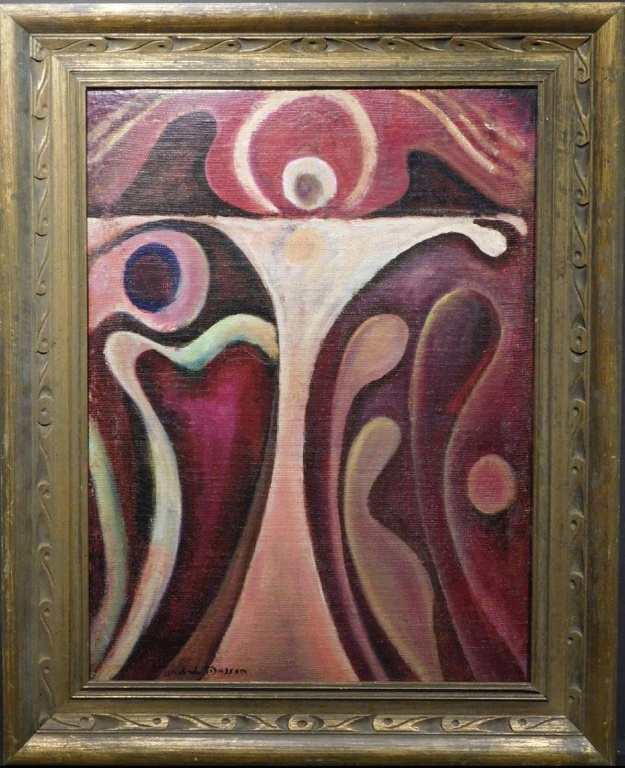 Andre Masson: Abstract Figure - 2
