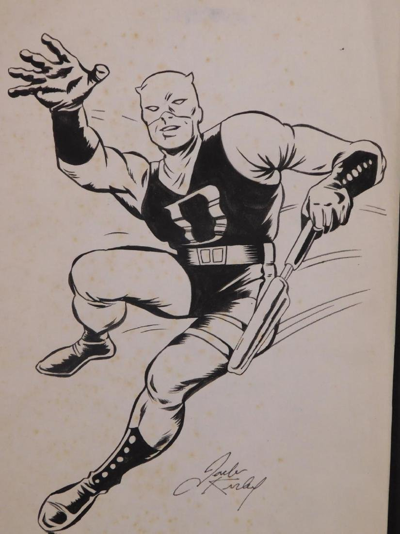 Jack Kirby: Sketch for D Man