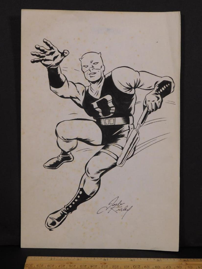 Jack Kirby: Sketch for D Man - 3