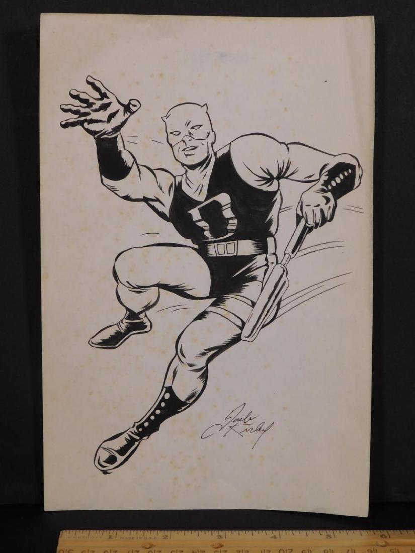 Jack Kirby: Sketch for D Man - 4