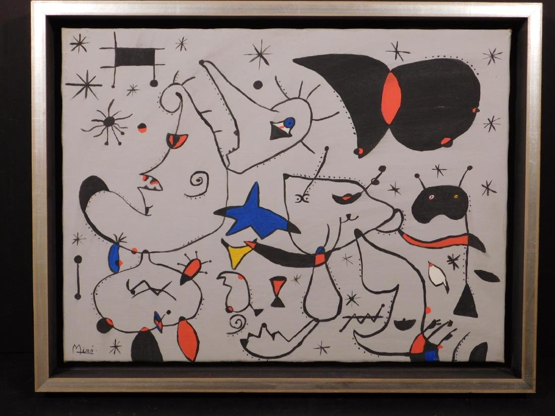 Joan Miro: Abstract Composition