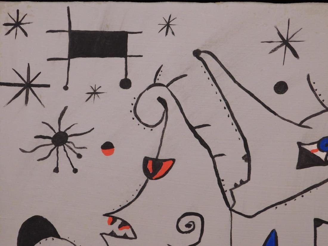 Joan Miro: Abstract Composition - 3