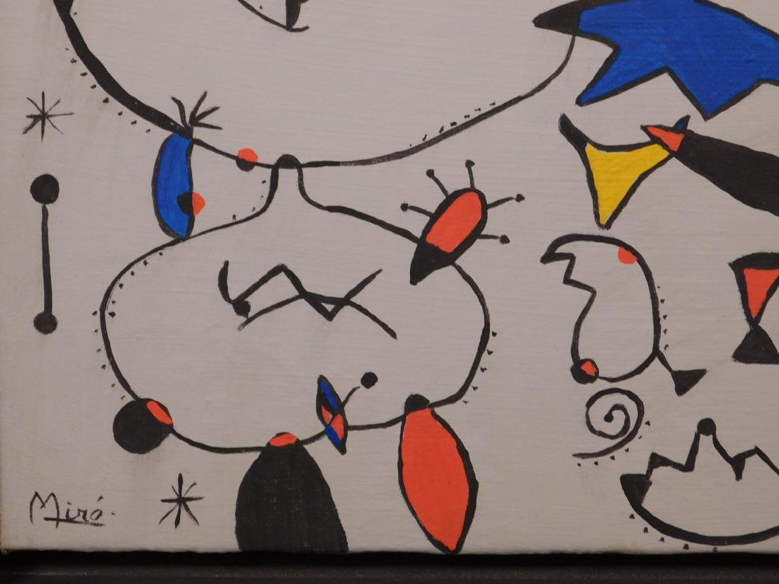 Joan Miro: Abstract Composition - 6