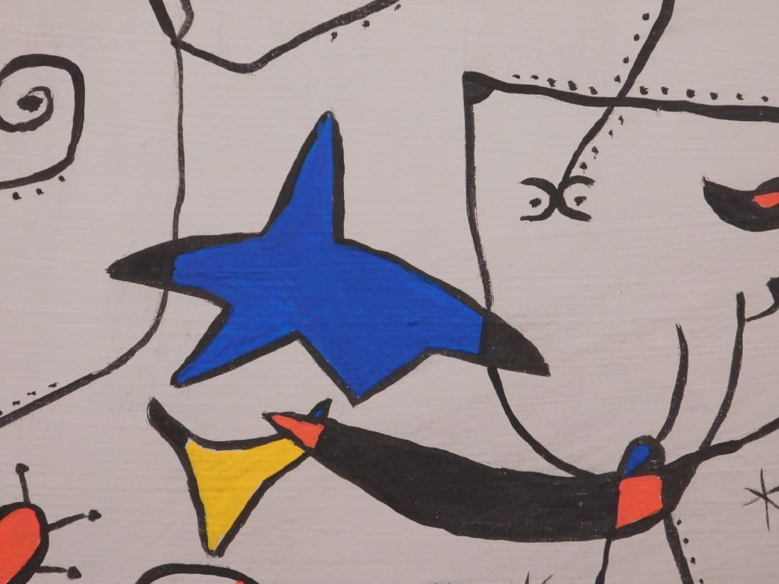 Joan Miro: Abstract Composition - 8
