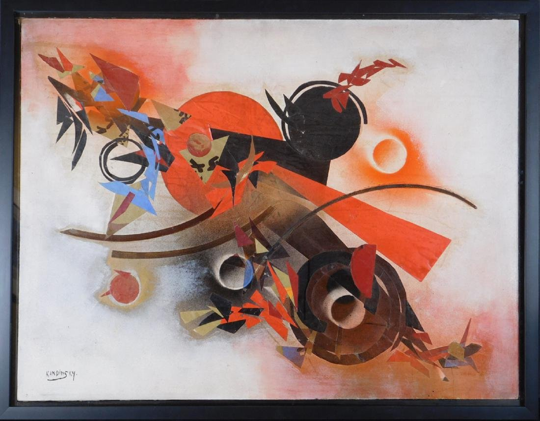 Wassily Kandinsky: Abstract Collage