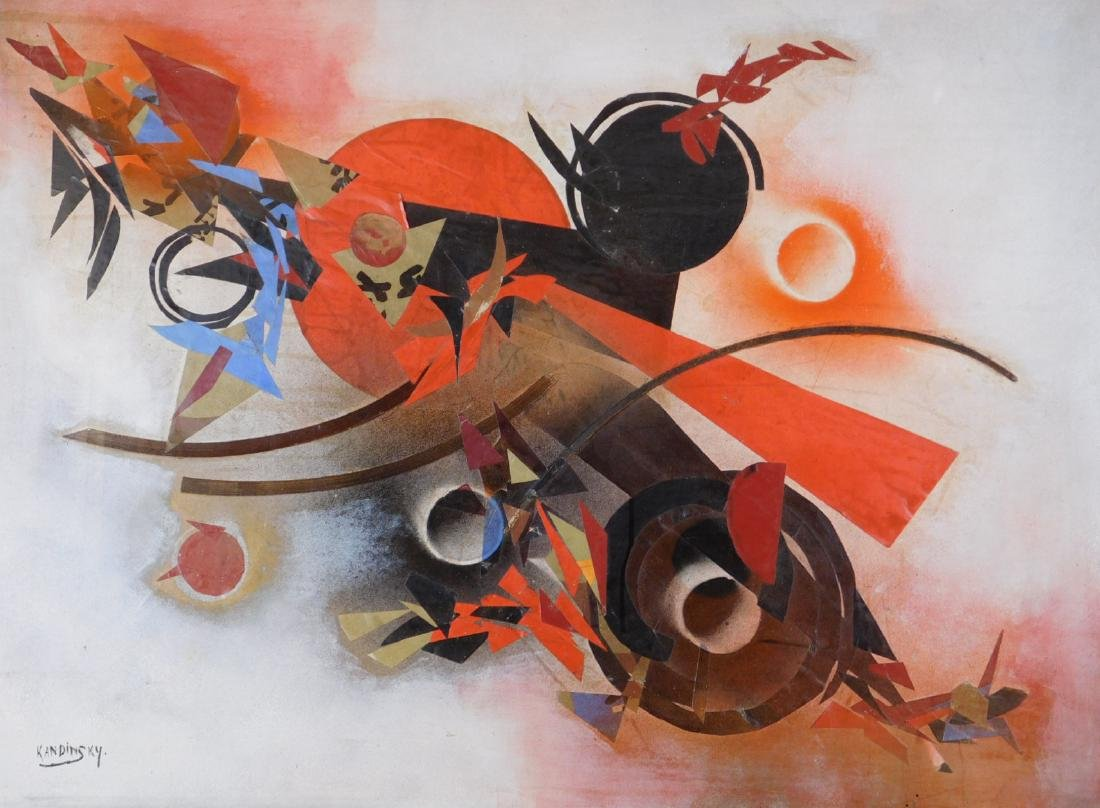 Wassily Kandinsky: Abstract Collage - 2