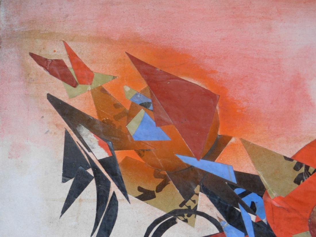 Wassily Kandinsky: Abstract Collage - 4