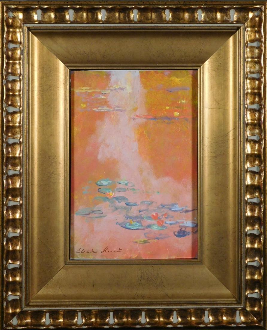 Claude Monet: Waterlillies - 2