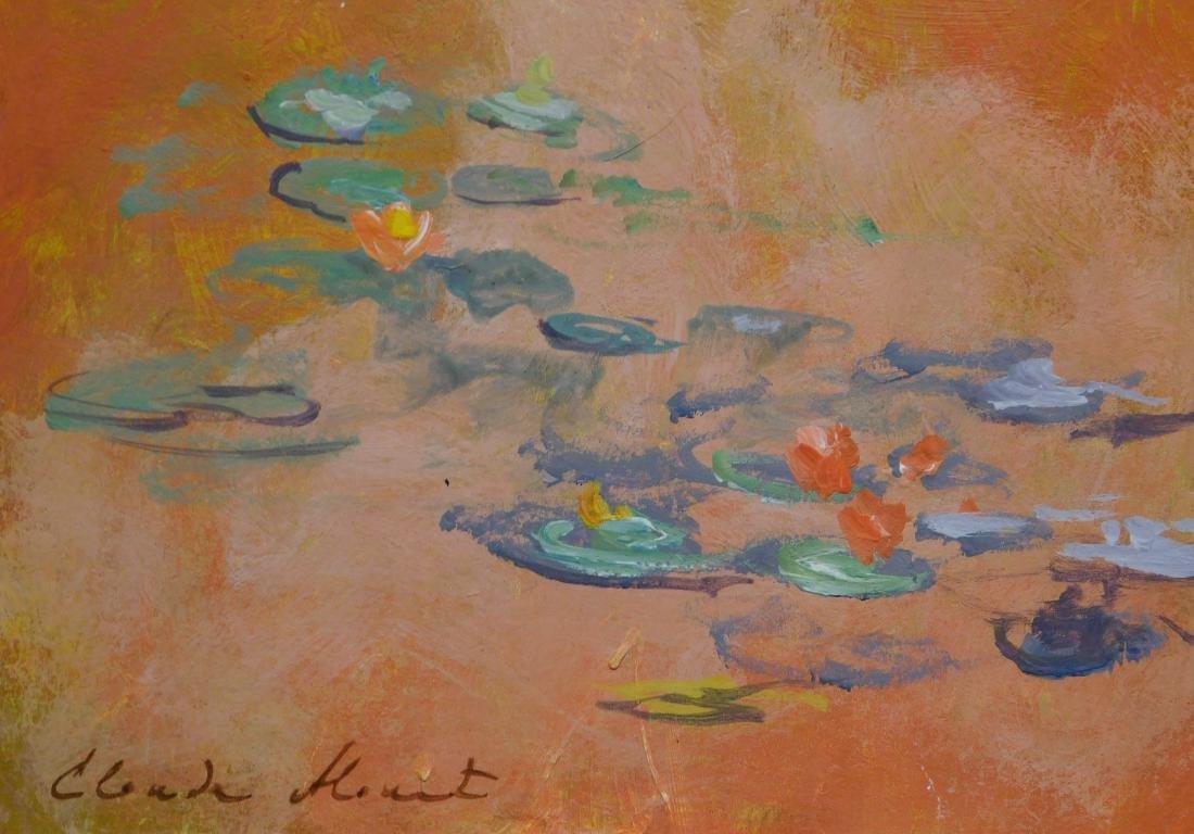 Claude Monet: Waterlillies - 4