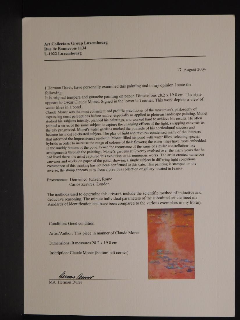 Claude Monet: Waterlillies - 7