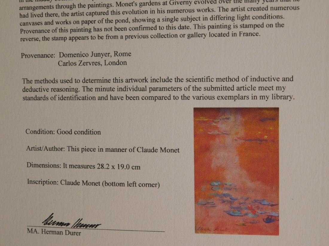 Claude Monet: Waterlillies - 9