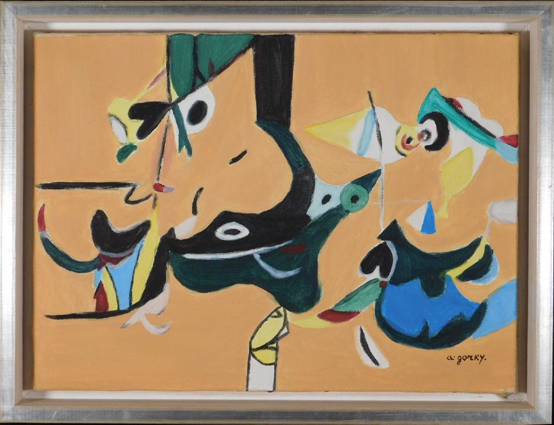 Arshile Gorky: Abstract Composition