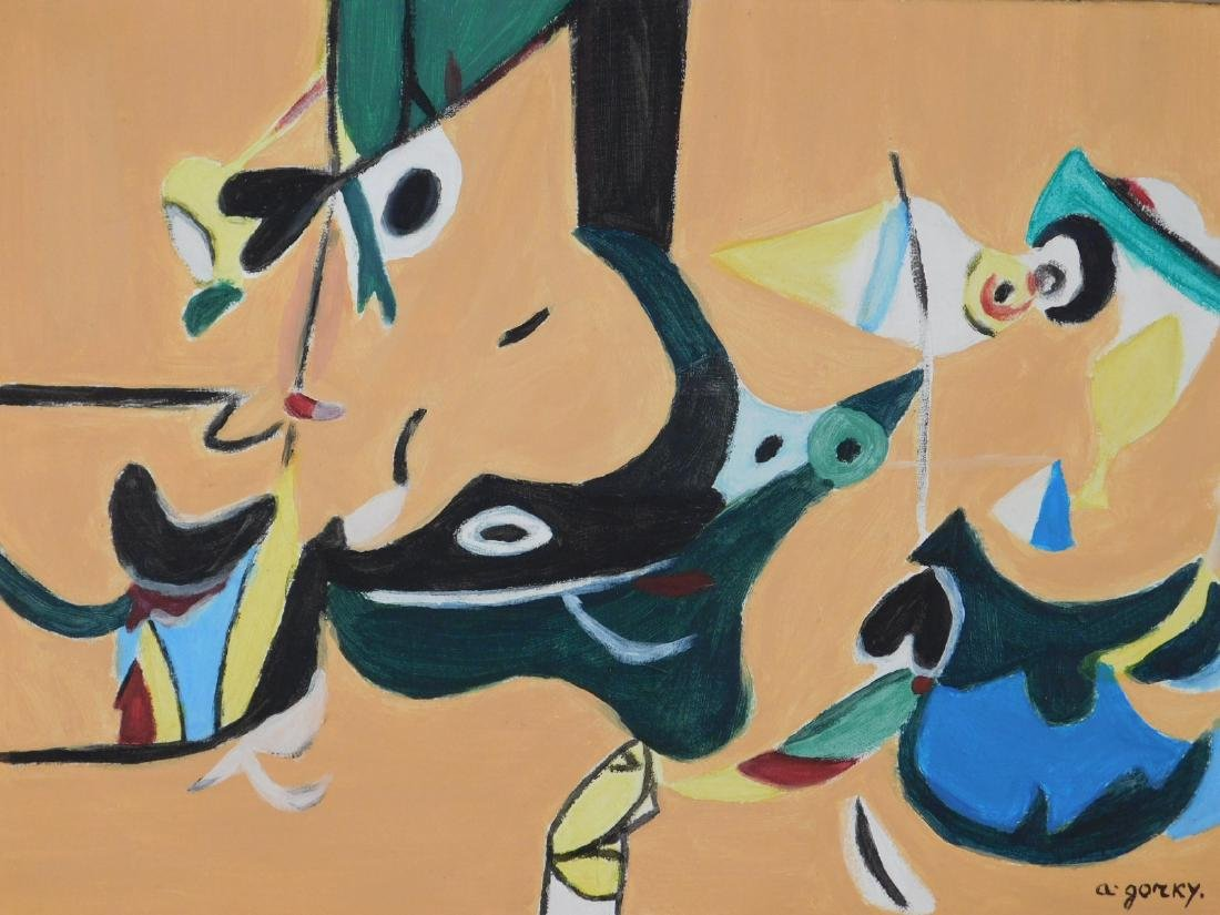 Arshile Gorky: Abstract Composition - 2