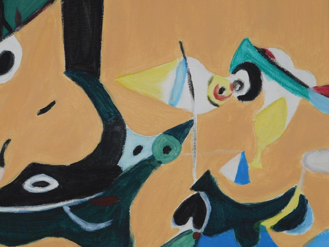Arshile Gorky: Abstract Composition - 4