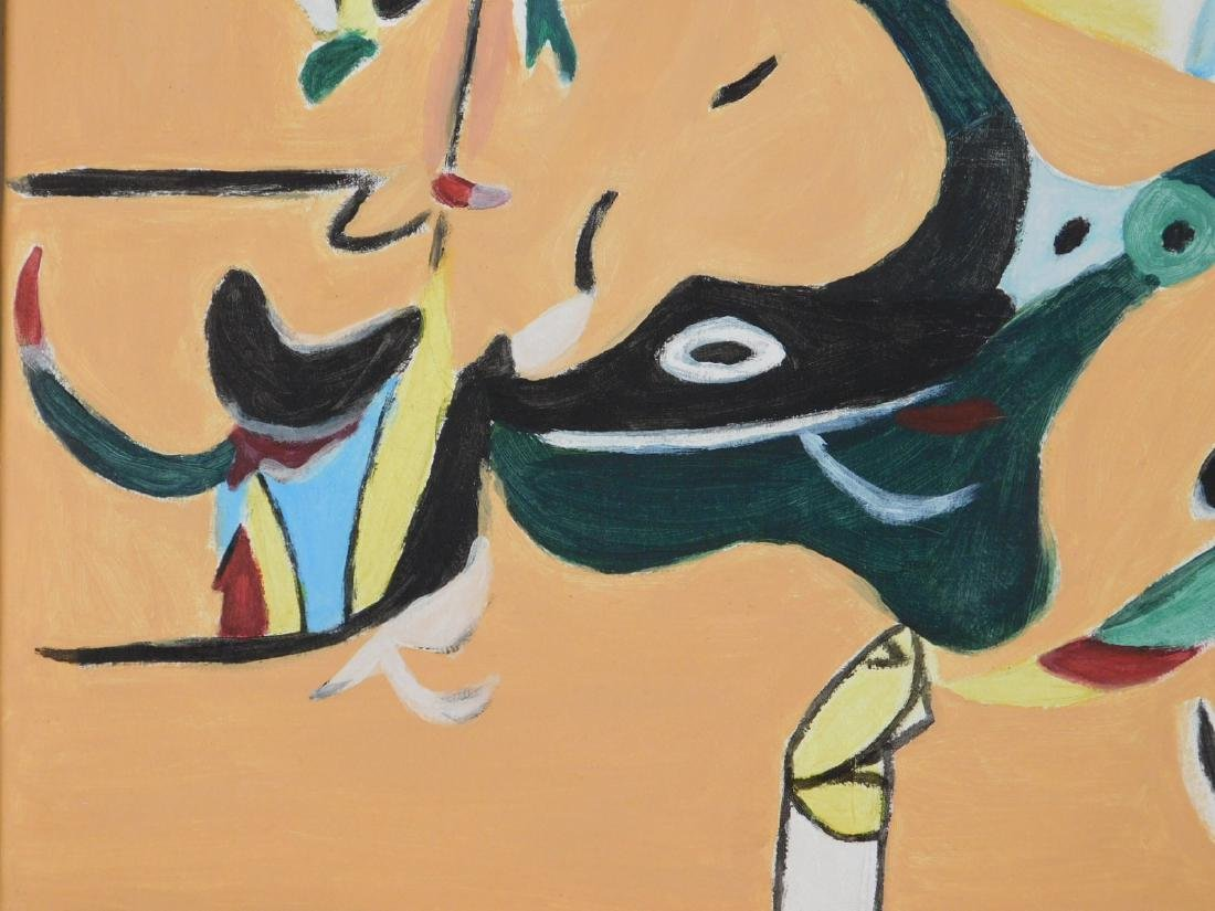 Arshile Gorky: Abstract Composition - 6