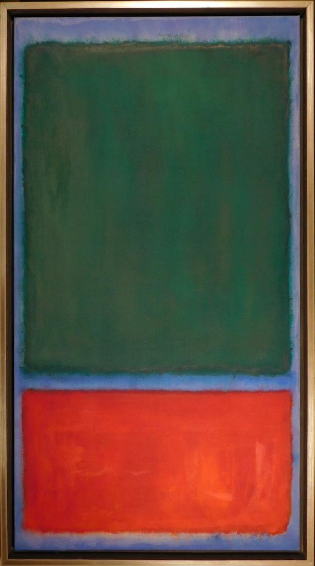 Mark Rothko: Color Field (Red, Blue, Green)